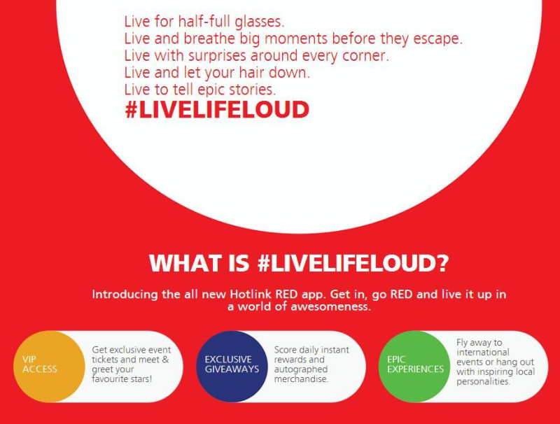 Maxis brings #LiveLifeLoud rewards to customers via new Hotlink RED App