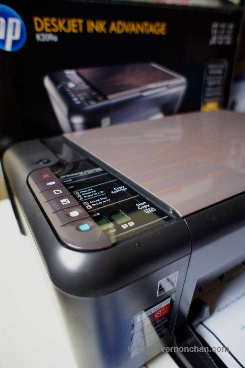 HP K209a Inkjet