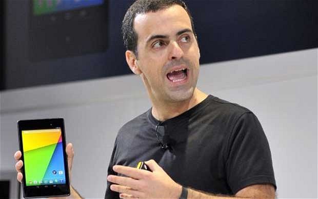 Poached: Hugo Barra, from Google. Image credit: Telegraph UK