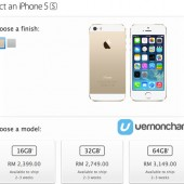 iPhone 5s Now Available on Malaysian Apple Online Store, Ships in 2-3 Weeks