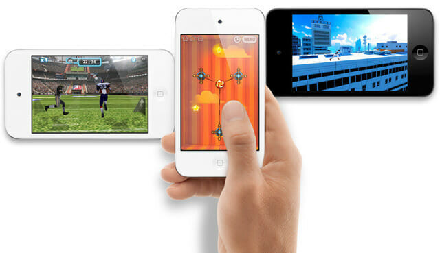 iPod touch gaming. Image credit: Arstechnica