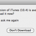 64-bit iTunes 10.4 Update Out