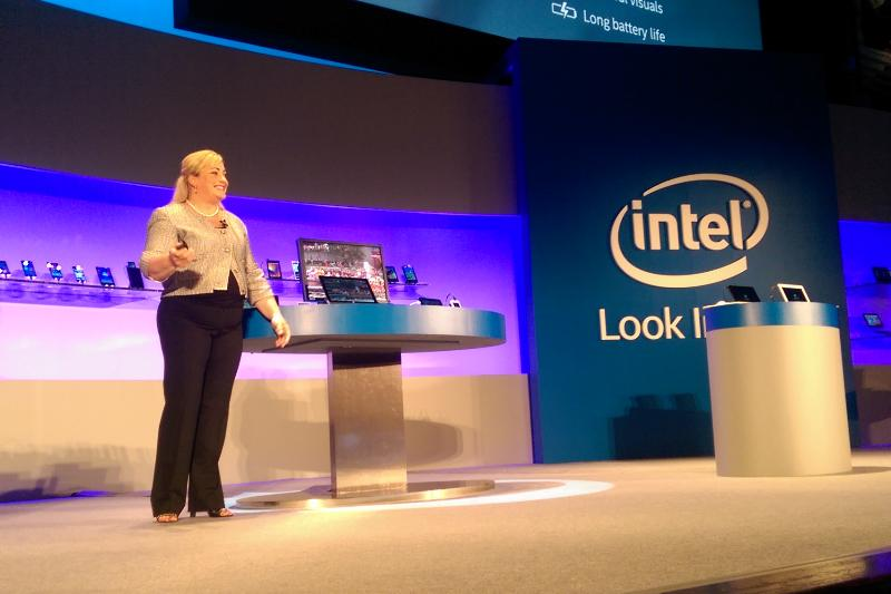 Intel President Renee James at Computex 2014