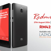 Lazada Malaysia to offer Xiaomi Redmi 1S on 27 August 2014