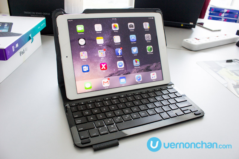 [Review] Logitech Type+ for iPad Air: Ultimate typing experience for the iPad