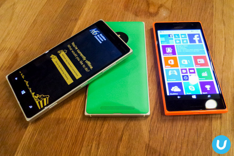 Lumia 830 and Lumia 735 with GSC app