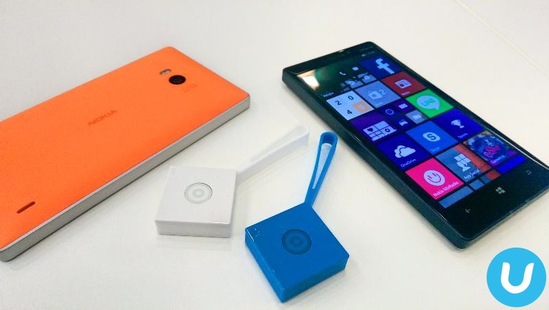 Lumia 630 with Treasure Tag