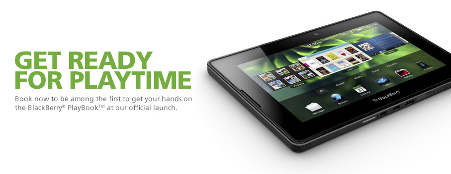 Maxis BlackBerry PlayBook