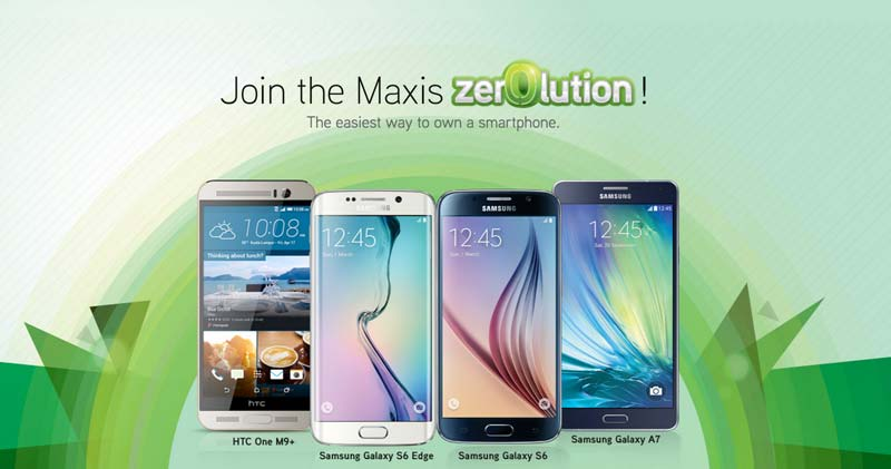 One plus zero equals Maxis Zerolution – breakthrough device ownership program with MaxisOne plan