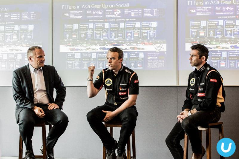 Christian Pedersen, Michael Taylor and Matthew Carter