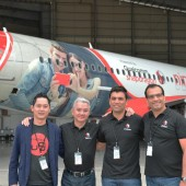 Ninetology and Qualcomm reveal AirAsia aircraft livery to mark ASEAN expansion plans