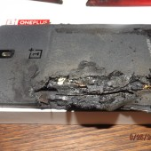 OnePlus One makes explosive exit in owner's pocket