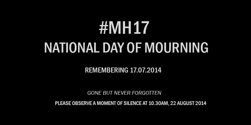 Remembering MH17