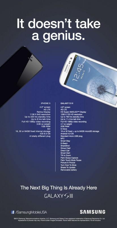 Samsung Anti-Apple iPhone 5 Ad