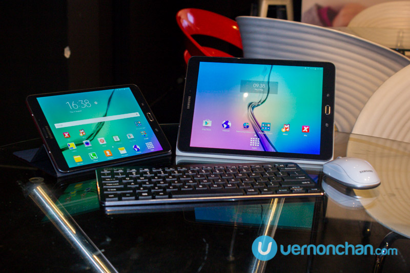 Samsung Galaxy Tab S2 launch
