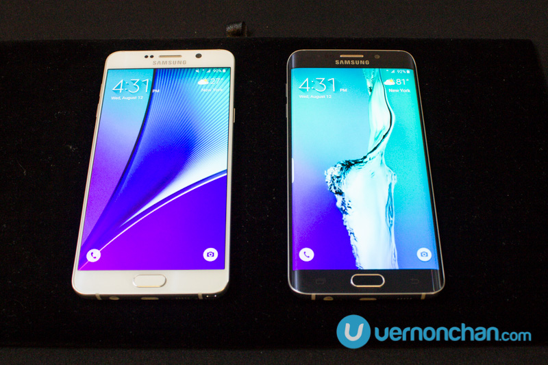 Big on big: Samsung continues to bet big with Galaxy Note 5 and S6 edge+