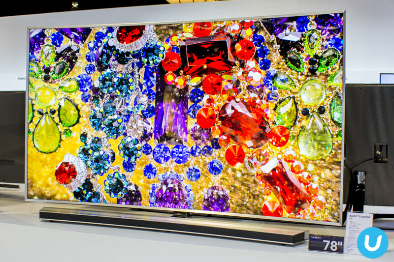 Samsung continues TV dominance with new SUHD TV, Smart TVs