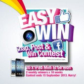 "P1 Kicks-off ""Snap, Post and Win"" Campaign"