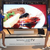 File picture of the 85-inch UHD, introduced at CES 2013. Image credit: Sammyhub.com