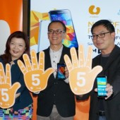 U Mobile partners Standard Chartered, offers Samsung GALAXY S5 for RM555, no upfront payment