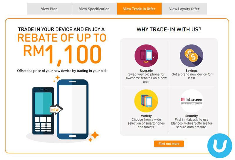 U Mobile trade-in