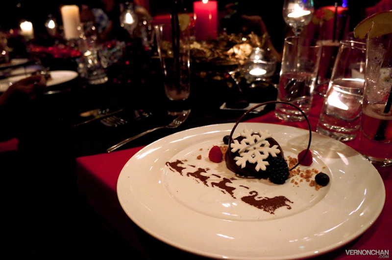 The Chocolate Bomb with Wild Berries