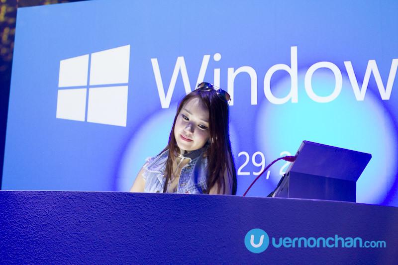 Windows 10, DJ Nicole Chen