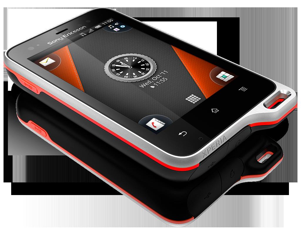 Sony Ericsson Xperia Active Black Orange