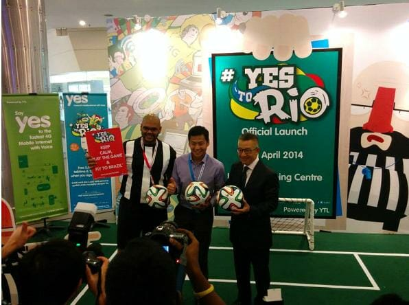 Yes celebrates football fever with #YesToRio contest